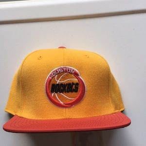 HOUSTON ROCKETS REFLECTED BRIM SIZE 7 FITTED NWT
